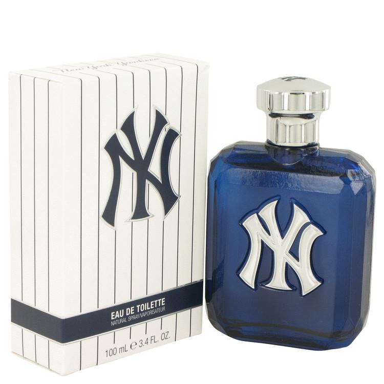 New York Yankees by New York Yankees Eau De Toilette Spray 3.4 oz Men