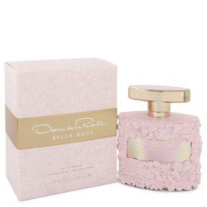 Bella Rosa by Oscar De La Renta Eau De Parfum Spray 3.4 oz Women