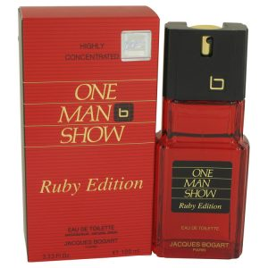 One Man Show Ruby by Jacques Bogart Eau De Toilette Spray 3.3 oz Men