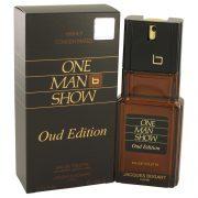 One Man Show Oud Edition by Jacques Bogart Eau De Toilette Spray 3.4 oz Men