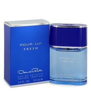 Oscar Pour Lui Fresh by Oscar De La Renta Eau De Toilette Spray 3 oz Men