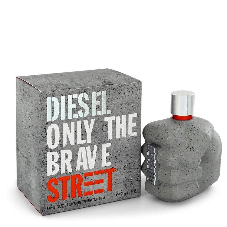Only the Brave Street by Diesel Eau De Toilette Spray 4.2 oz Men