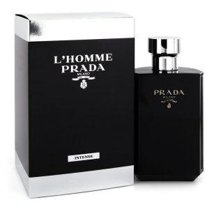 Prada L'homme Intense by Prada Eau De Parfum Spray 5.1 oz Men