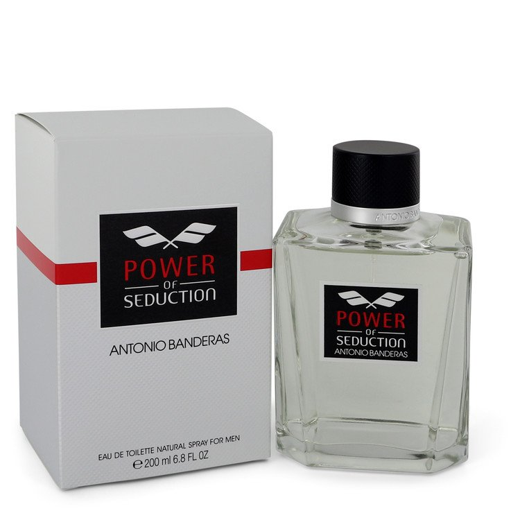 Power of Seduction by Antonio Banderas Eau De Toilette Spray 6.7 oz Men