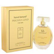 Precious Gold by Harve Benard Eau De Parfum Spray 3.4 oz Women