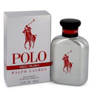 Polo Red Rush by Ralph Lauren Eau De Toilette Spray 2.5 oz Men