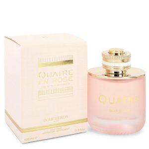 Quatre En Rose Florale by Boucheron Eau De Parfum Spray 3.3 oz Women