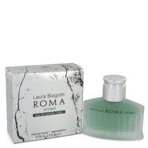 Roma Uomo Cedro by Laura Biagiotti Eau De Toilette Spray 2.5 oz Men