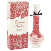 Christina Aguilera Red Sin by Christina Aguilera Eau De Parfum Spray 1.7 oz Women