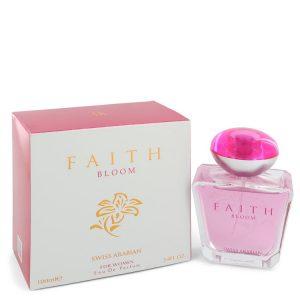 Swiss Arabian Faith Bloom by Swiss Arabian Eau De Parfum Spray 3.4 oz Women