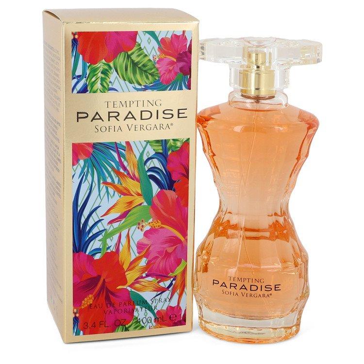 Sofia Vergara Tempting Paradise by Sofia Vergara Eau De Parfum Spray 3.4 oz Women