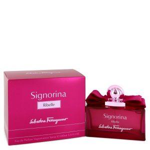 Signorina Ribelle by Salvatore Ferragamo Eau De Parfum Spray 3.4 oz Women