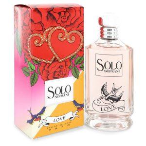 Solo Love by LUCIANO SOPRANI Eau De Toilette Spray 3.4 oz Women