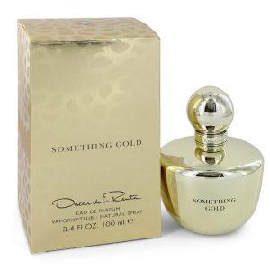 Something Gold by Oscar De La Renta Eau De Parfum Spray 3.4 oz Women