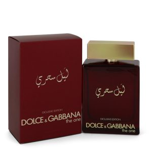 The One Mysterious Night by Dolce & Gabbana Eau De Parfum Spray 5 oz Men