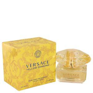 Versace Yellow Diamond by Versace Deodorant Spray 1.7 oz Women