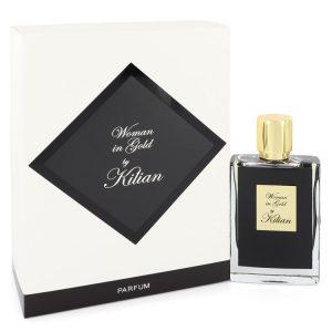 Woman in Gold by Kilian Eau De Parfum Spray Refillable 1.7 oz Women