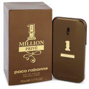 1 Million Prive by Paco Rabanne Eau De Parfum Spray 1.7 oz Men