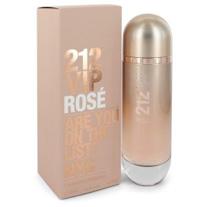 212 VIP Rose by Carolina Herrera Eau De Parfum Spray 4.2 oz Women