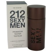 212 Sexy by Carolina Herrera Eau De Toilette Spray (Tester) 3.3 oz Men
