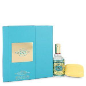 4711 by Muelhens Gift Set -- 3 oz Eau De Cologne Spray + 3.5 oz Soap Men
