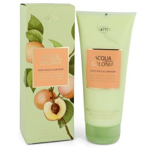 4711 Acqua Colonia White Peach & Coriander by Maurer & Wirtz Body Lotion 6.8 oz Women