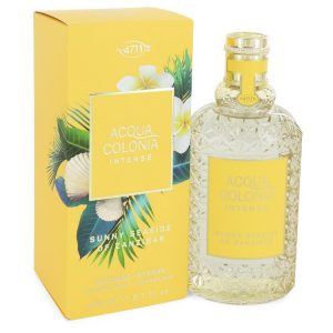 4711 Acqua Colonia Sunny Seaside of Zanzibar by Maurer & Wirtz Eau De Cologne Intense Spray (Unisex) 5.7 oz Women
