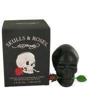 Skulls & Roses by Christian Audigier After Shave Balm 3 oz Men