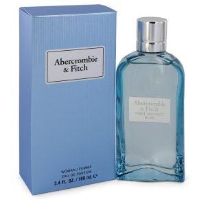 First Instinct Blue by Abercrombie & Fitch Eau De Parfum Spray (Tester) 3.4 oz Women