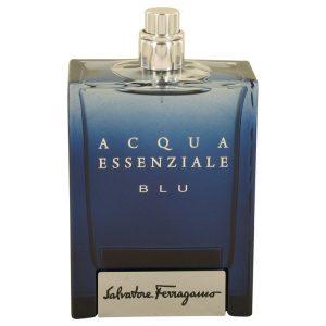 Acqua Essenziale Blu by Salvatore Ferragamo Eau De Toilette Spray (Tester) 3.4 oz Men