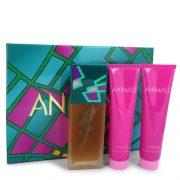 ANIMALE by Animale Gift Set -- 3.4 oz Eau De Parfum Spray + 3.4 oz Shower Gel + 3.4 oz Body Lotion Women