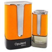 Al Haramain Opulent Saffron by Al Haramain Eau De Parfum Spray (Unisex) 3.3 oz Men