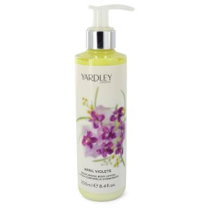 April Violets by Yardley London Body Lotion 8.4 oz Women
