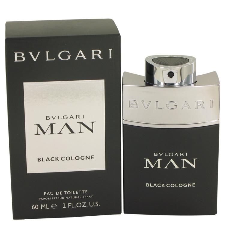Bvlgari Man Black Cologne by Bvlgari Eau De Toilette Spray 2 oz Men