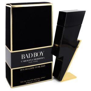 Bad Boy by Carolina Herrera Eau De Toilette Spray 1.7 oz Men