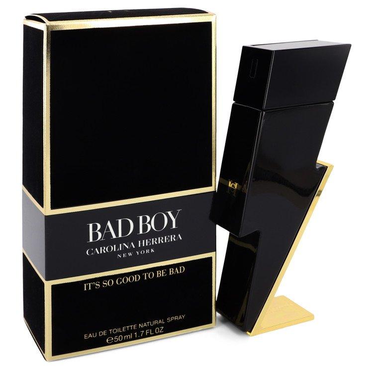 Bad Boy by Carolina Herrera Eau De Toilette Spray 1.7 oz Men