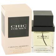 Chic by Carolina Herrera Eau De Toilette Spray 2 oz Men