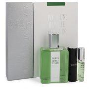 CARON Pour Homme by Caron Gift Set -- 6.7 oz Eau De Toilette Spray + 0.5 oz Mini EDT Spray + 0.5 oz Refillable Spray Men