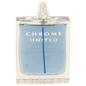 Chrome United by Azzaro Eau De Toilette Spray (Tester) 3.4 oz Men