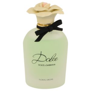 Dolce Floral Drops by Dolce & Gabbana Eau De Toilette Spray (Tester) 2.5 oz Women