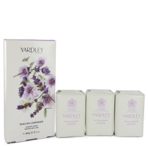 English Lavender by Yardley London 3 x 3.5 oz Soap 3.5 oz Women