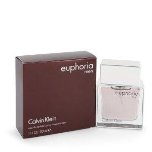 Euphoria by Calvin Klein Eau De Toilette Spray 1 oz Men