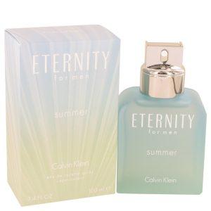 Eternity Summer by Calvin Klein Eau De Toilette Spray (2016) 3.4 oz Men