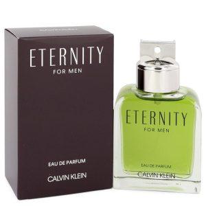 ETERNITY by Calvin Klein Eau De Parfum Spray 3.3 oz Men