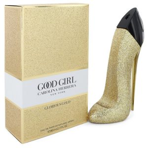 Good Girl Glorious Gold by Carolina Herrera Eau De Parfum Spray 2.7 oz Women