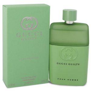 Gucci Guilty Love Edition by Gucci Eau De Toilette Spray 3 oz Men