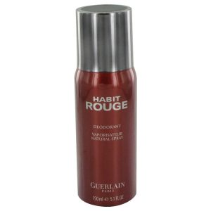 HABIT ROUGE by Guerlain Deodorant Spray 5 oz Men