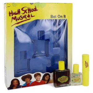 High School Musical by Disney Gift Set -- 1 oz Cologne Spray + .5 oz Pocket Spray + .25 oz Shimmer Stick Women