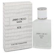 Jimmy Choo Ice by Jimmy Choo Eau De Toilette Spray 1 oz Men