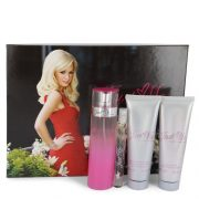 Just Me Paris Hilton by Paris Hilton Gift Set -- 3.3 oz Eau De Parfum Spray + 3 oz Body Lotion + 3 oz Shower Gel + .34 oz Mini EDP Spray Women